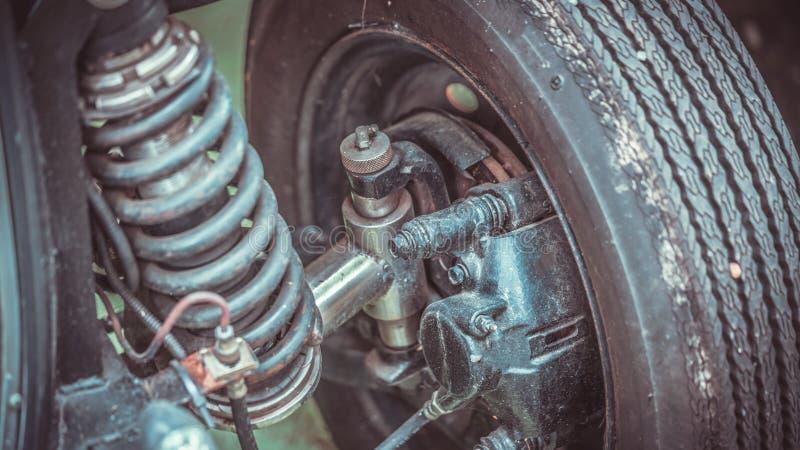 Промышленная машинная часть амортизатора удара стоковые фотографии rf