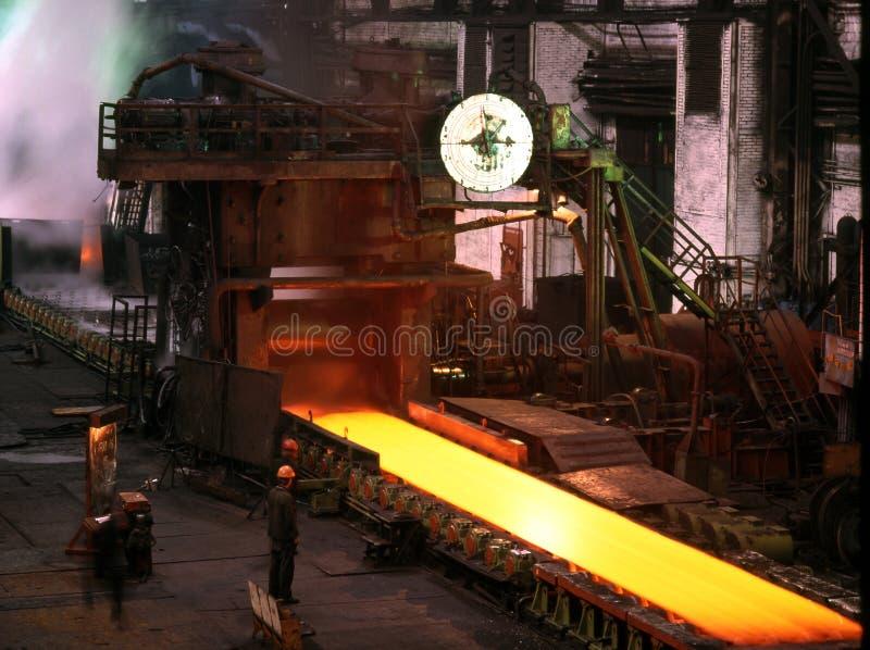 промышленная металлургия стоковые фото