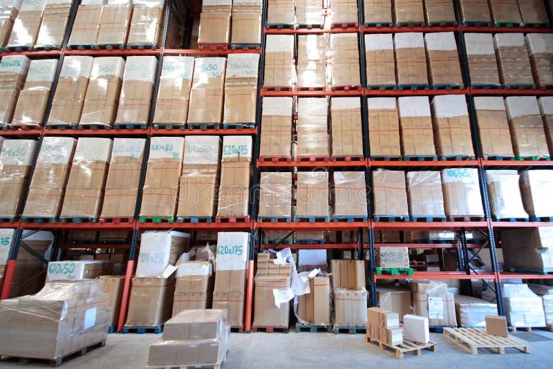промышленное хранение стоковое изображение rf