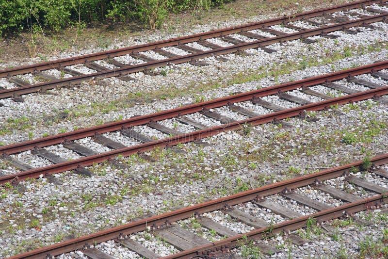промышленные железные дороги стоковое изображение