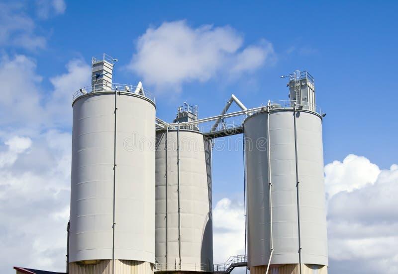 Промышленные залеми стоковое фото