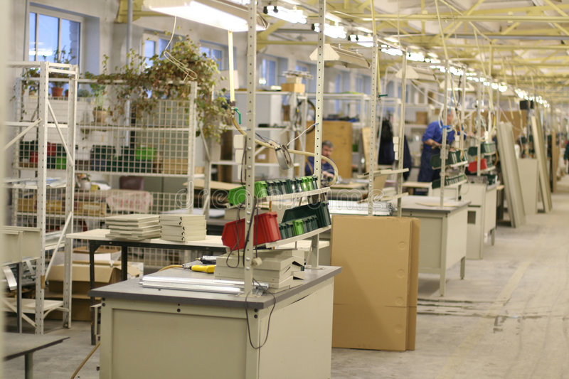 промышленный завод стоковая фотография rf