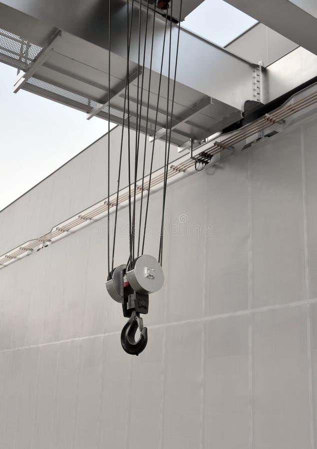 Промышленный кран стоковая фотография rf