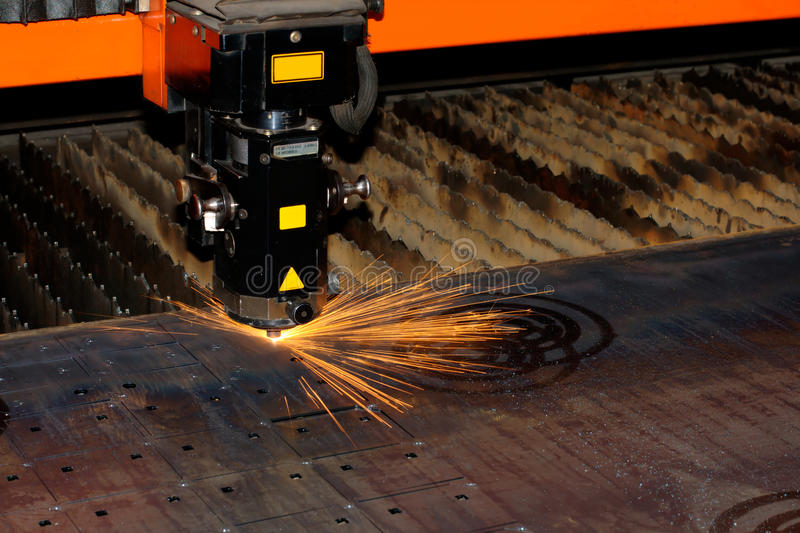 промышленный лазер стоковые фото