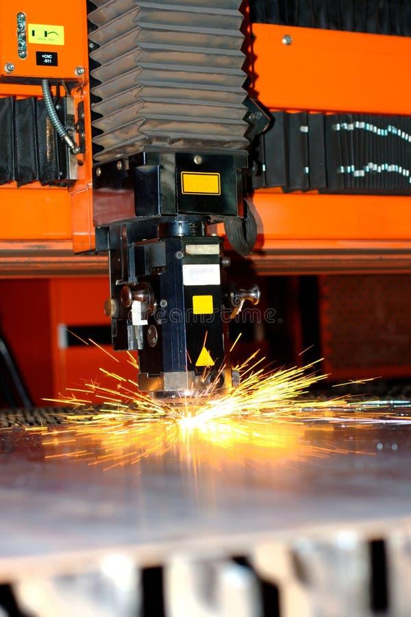 промышленный лазер стоковое фото