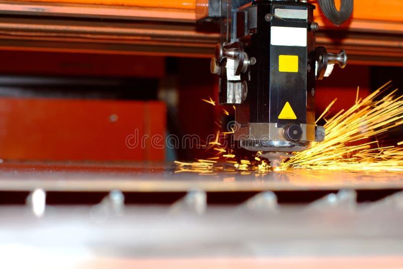 промышленный лазер стоковое изображение
