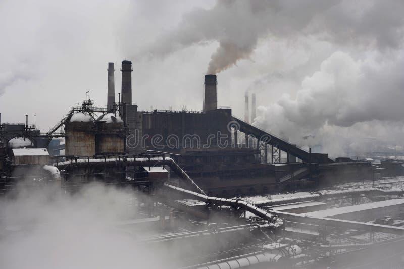 промышленный ландшафт стоковое изображение