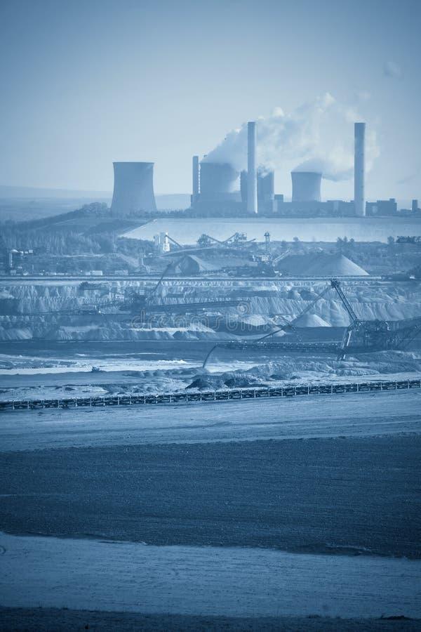 промышленный ландшафт стоковая фотография rf