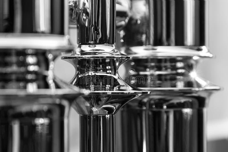 Промышленный металлический материал Абстрактные части металла стоковое фото rf