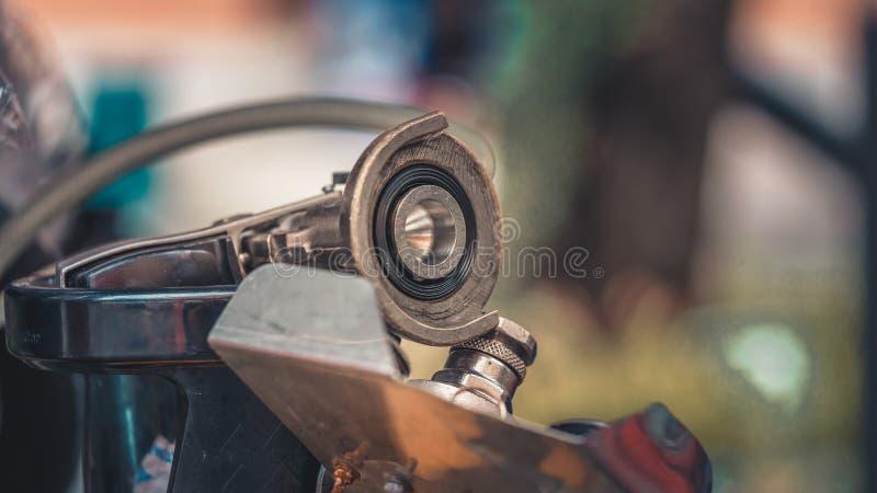 Промышленный механический двигатель запасных частей стоковые фотографии rf