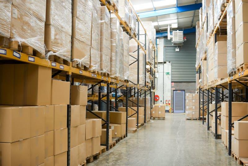 промышленный пакгауз стоковые изображения