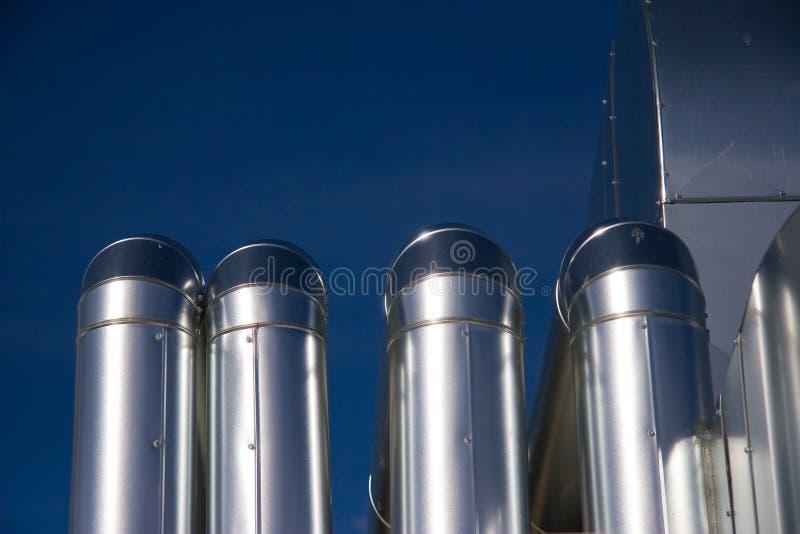 промышленный тубопровод стоковое фото