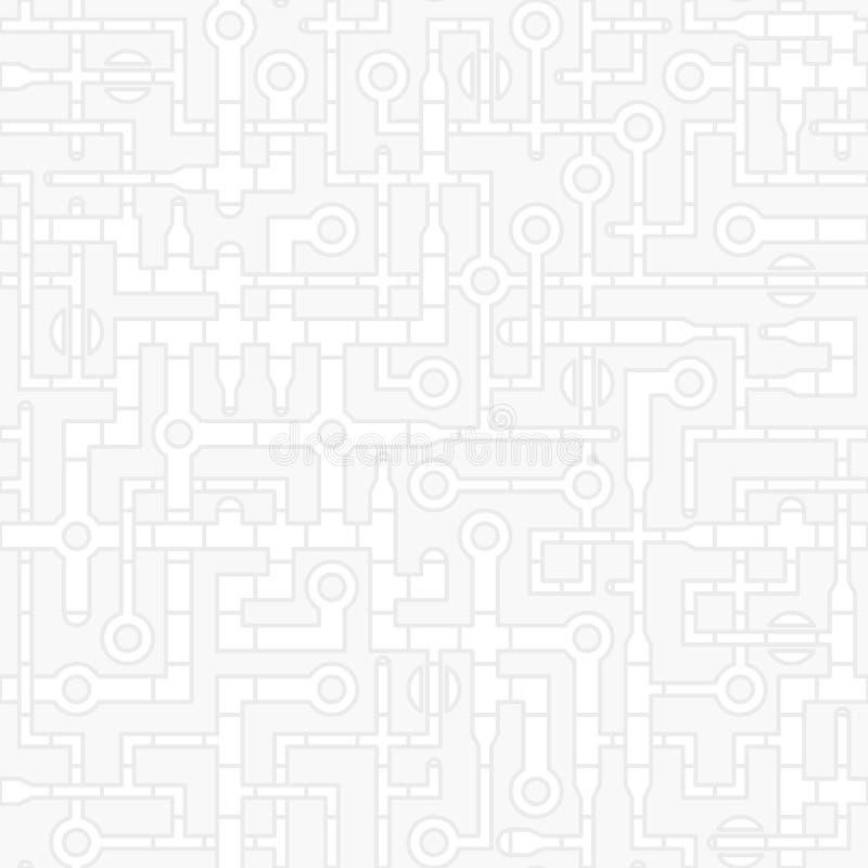 Промышленная технологическая абстрактная предпосылка - прокладывайте трубопровод вектор g бесплатная иллюстрация