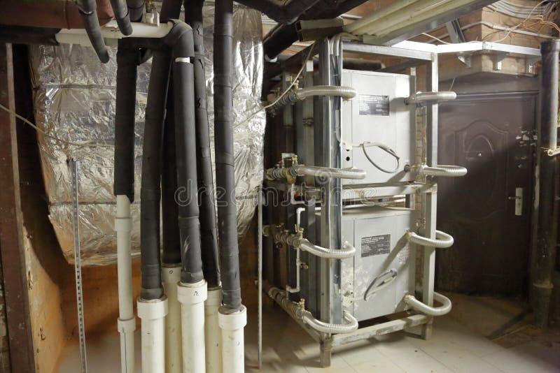 Промышленное термальное оборудование стоковое фото
