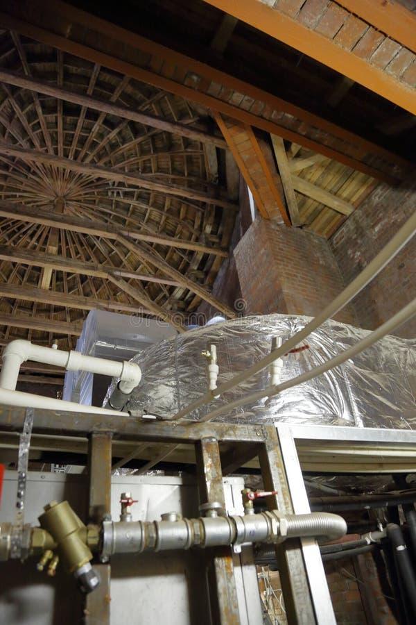 Промышленное термальное оборудование стоковое фото rf