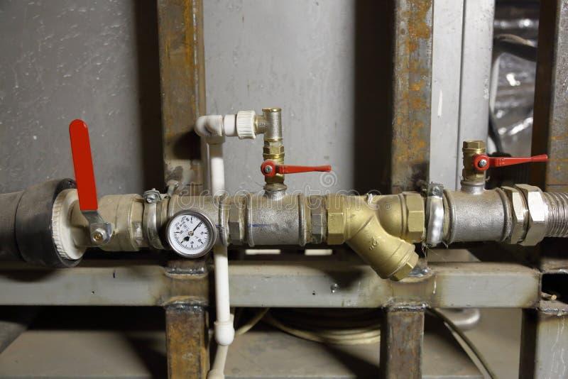 Промышленное термальное оборудование стоковые фото