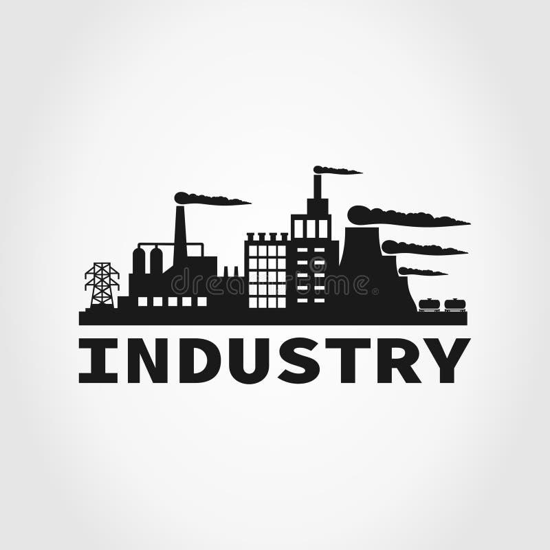 Промышленность иллюстрация вектора