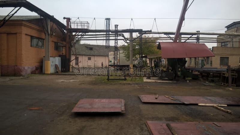 промышленный ландшафт стоковое изображение rf