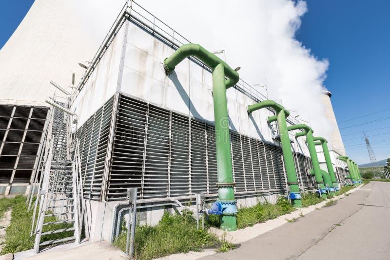 Промышленный охладитель стоковые изображения rf