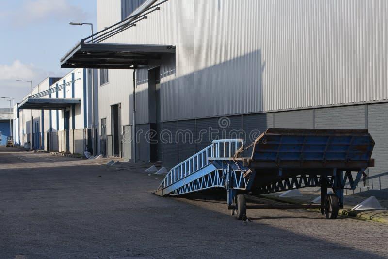 Промышленный район стоковая фотография