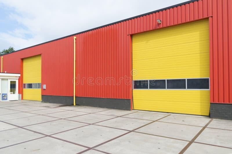 Промышленный склад стоковое фото