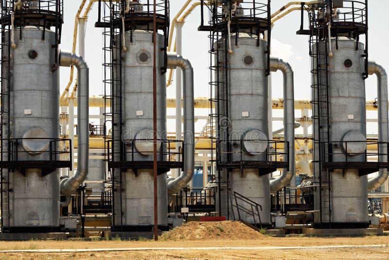 Промышленный столбец. стоковое изображение rf