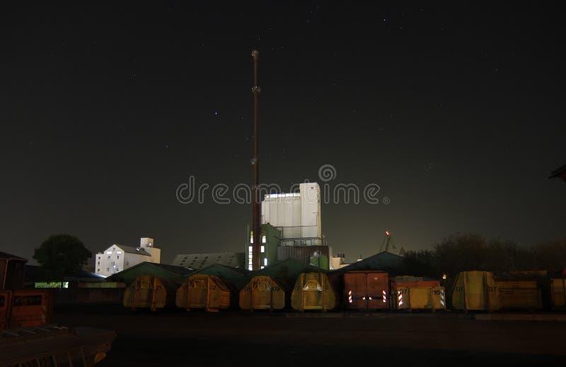 промышленный ярд стоковые фото