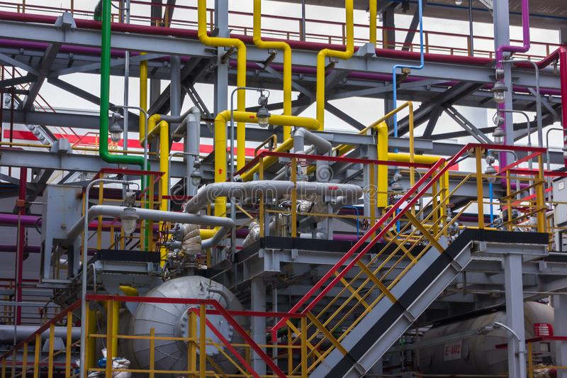 Пронзительный рафинадный завод стоковое фото rf