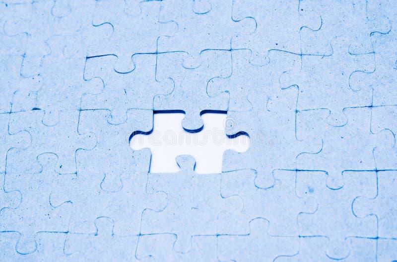 пропавшая головоломка части стоковые фотографии rf