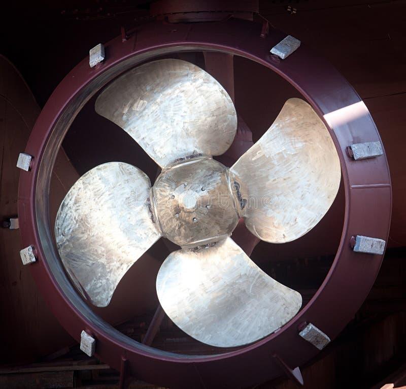 Пропеллер корабля стоковые фото