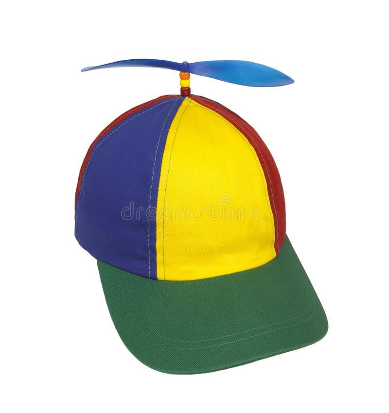 пропеллер шлема стоковое фото rf