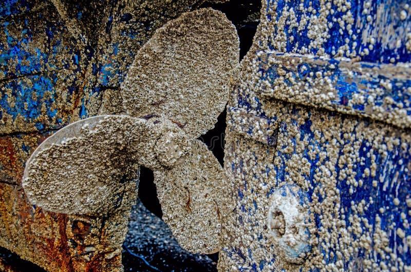 Пропеллер шлюпки крышки щипцев стоковые изображения