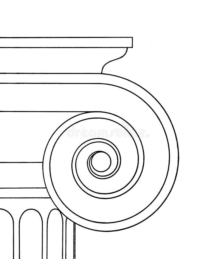 прописная ионная бесплатная иллюстрация