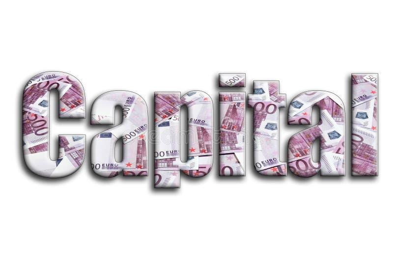 прописно Надпись имеет текстуру фотографии, которая показывает много 500 счетов денег евро стоковые изображения rf
