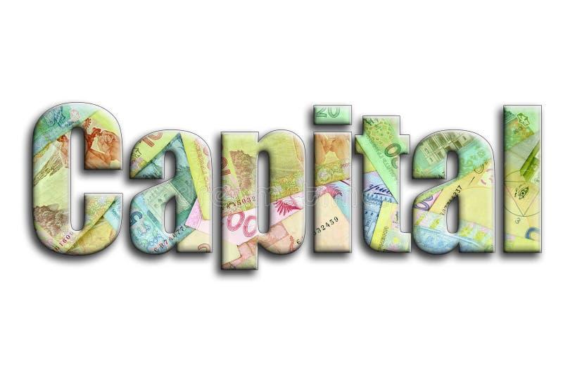 прописно Надпись имеет текстуру фотографии, которая показывает много украинские счеты денег иллюстрация вектора
