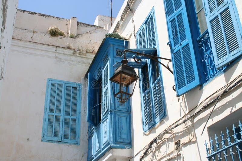 прописные улицы tunis Тунис стоковое фото rf
