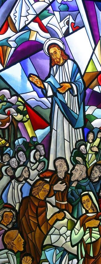Проповедь на Маунте стоковое изображение