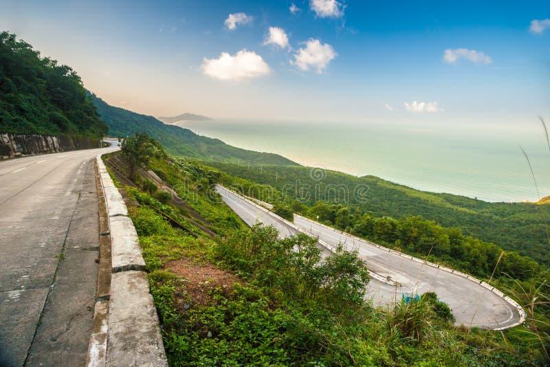 Пропуск Hai Van стоковая фотография