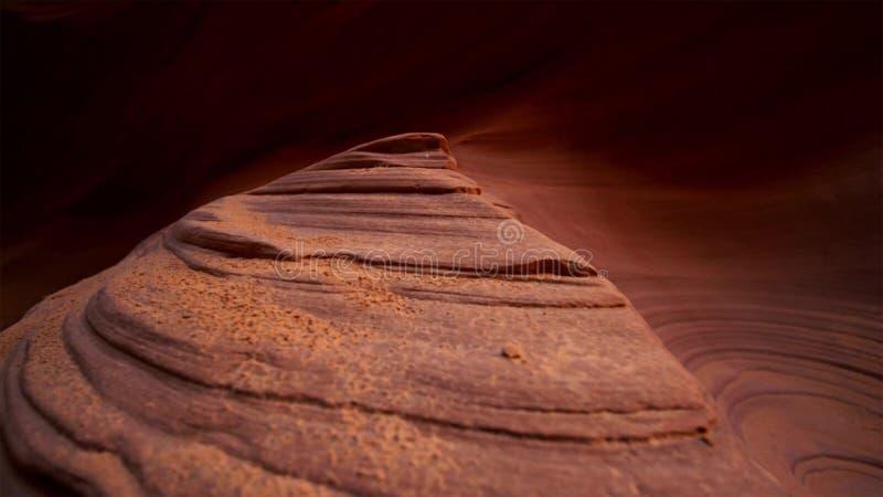 Прорежьте каньон в национальном парке Escalante парадной лестницы, Юте, США Необыкновенные красочные образования песчаника в пуст стоковая фотография rf