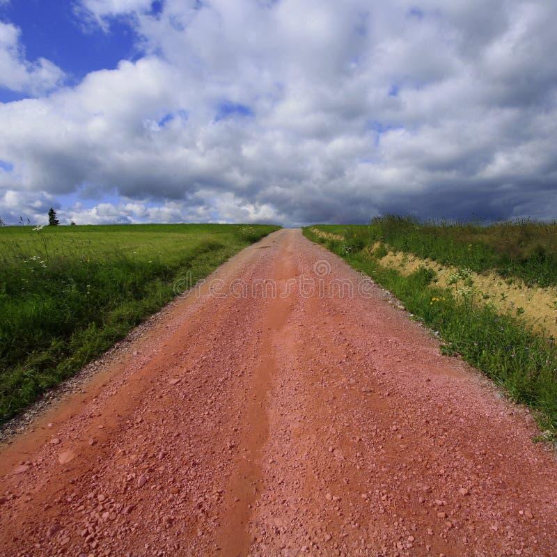 проселочная дорога стоковые фото