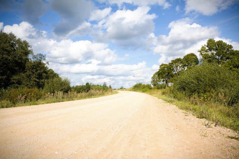 проселочная дорога стоковая фотография