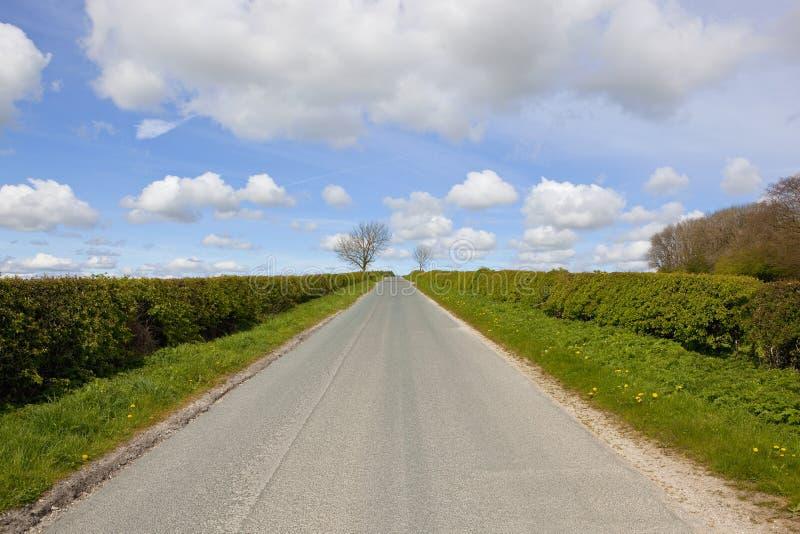проселочная дорога прямо стоковые фотографии rf