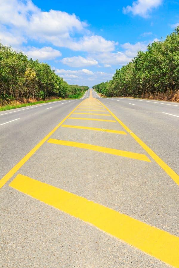 Проселочная дорога страны стоковое фото rf