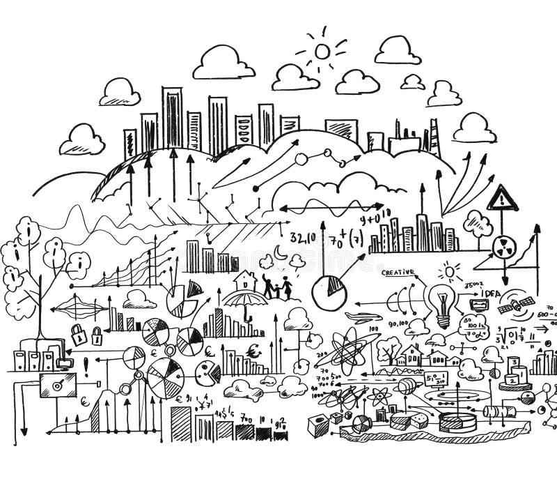 Download просматривайте детализированный шарж дела чувствуйте свободно другую серию плана к работам Стоковое Фото - изображение насчитывающей чертеж, ежевики: 41650902
