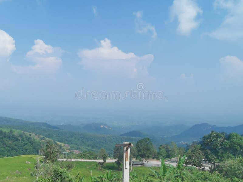 Просмотр из Phu Thap Boek стоковые фото