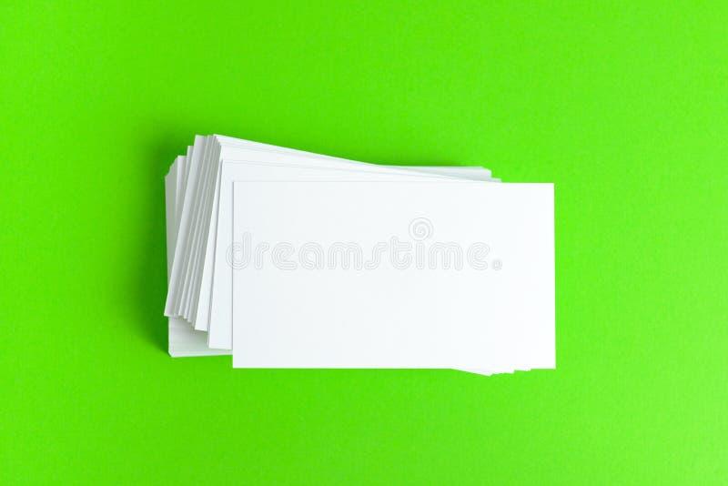 Простая визитная карточка стоковое изображение