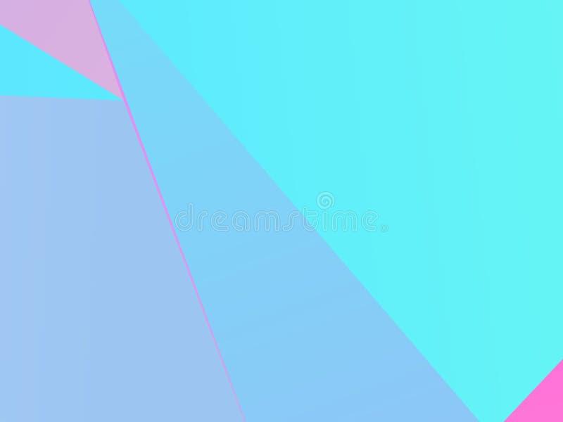 Простая геометрическая предпосылка Минимальный дизайн Резюмируйте бумагу сочетания из покрашенную также вектор иллюстрации притяж иллюстрация вектора