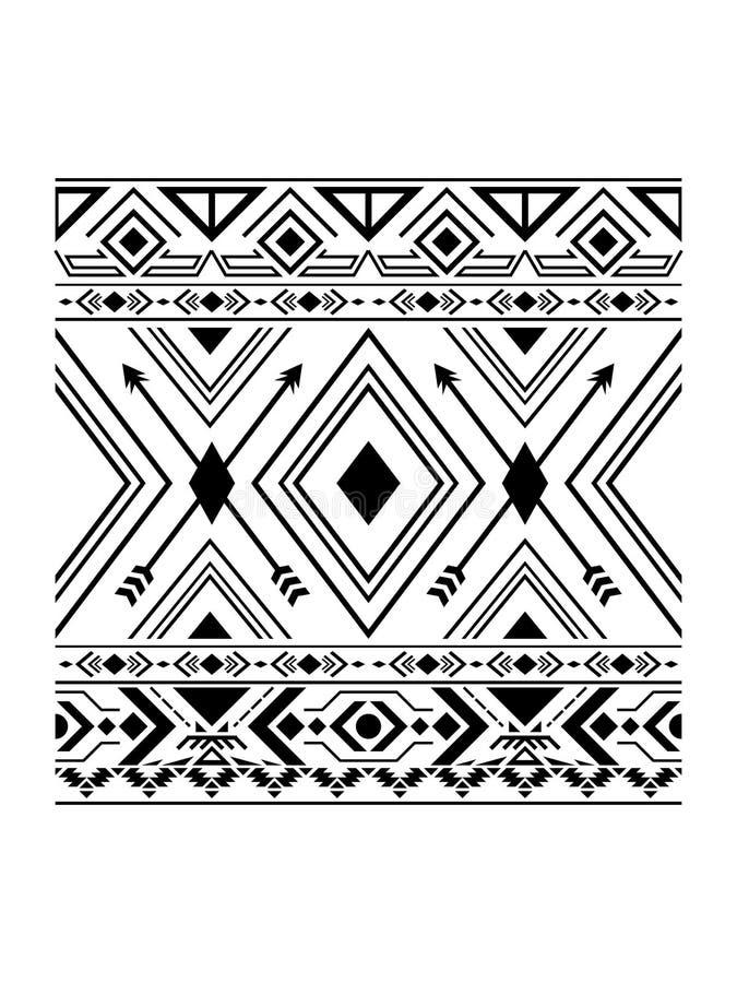 Простая картина Навахо стоковое изображение rf