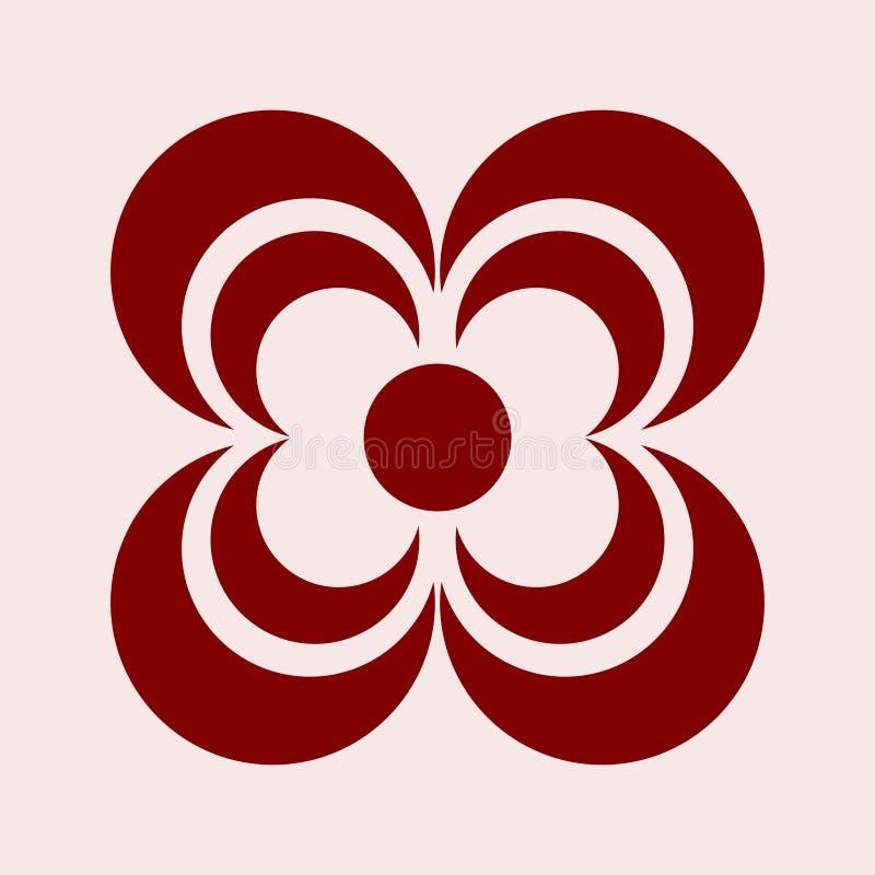 Простая община конспекта логотипа с цветом для деловой компании иллюстрация вектора