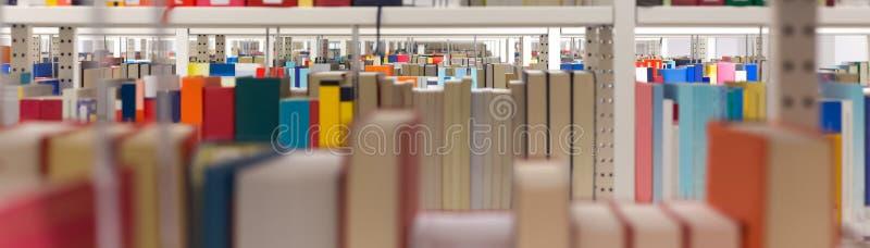 Простая предпосылка библиотеки стоковое фото